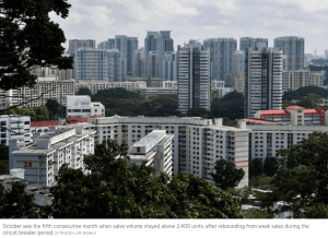 HDB resale prices rise for 4th month